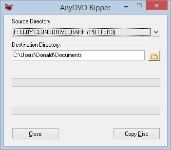 ริพซีดี dvd ไปยังแฟ้มโฟลเดอร์