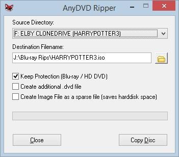 ริพซีดี dvd ไปยังไฟล์ iso รูปภาพ